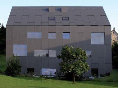 Pannello e lastra di copertura in cemento fibrorinforzato INTEGRAL CREA