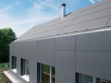 Roofing panel and sheet in fibre cement INTEGRAL PLAN