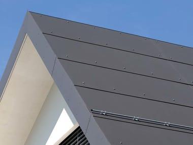 Pannello e lastra di copertura in cemento fibrorinforzato PLANCOLOR