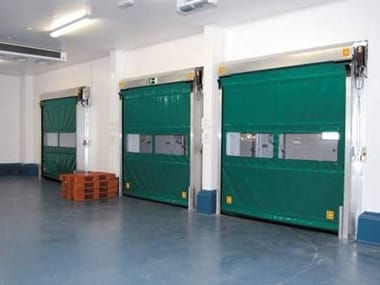 Rapid vertical roll-up door DOMINO EVOLUTION