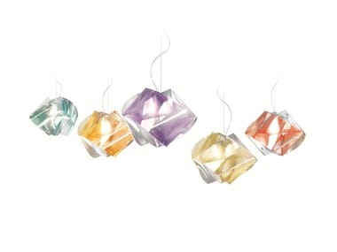 Pendant lamp GEMMY PRISMA COLOR