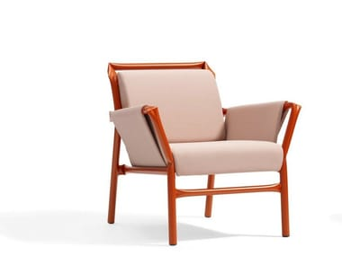 Upholstered armchair with armrests SUPERKINK | Armchair