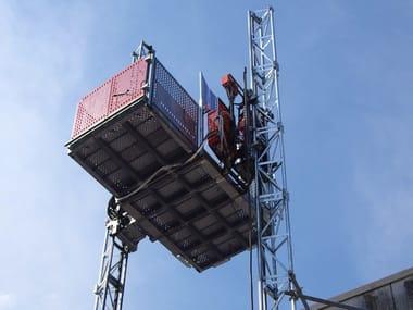 Construction hoist HEK TPL 2000, 2000 D & 1800