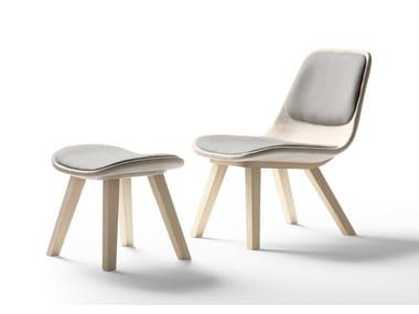 Upholstered fabric easy chair KUSKOA | Easy chair