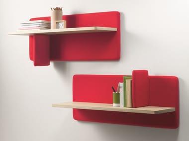 Oak wall shelf LANDA | Wall shelf