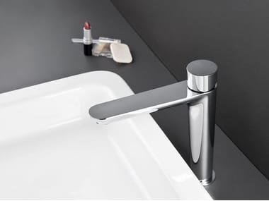 Countertop single handle washbasin tap QUEEN