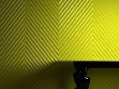 Pannello con effetti tridimensionali MILLERIGHE SPIGATO