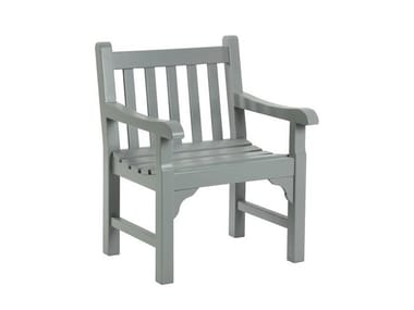 Garden teak easy chair with armrests NOTTING HILL | Easy chair
