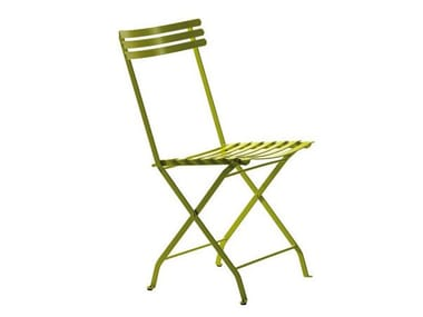 Folding iron garden chair FLOWER | Folding chair