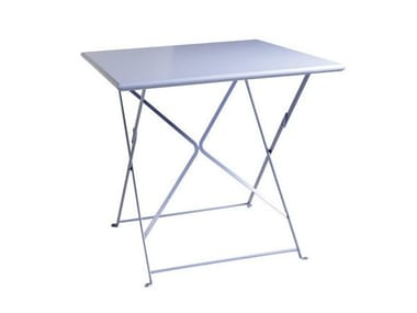 Folding metal garden table FLOWER | Folding table