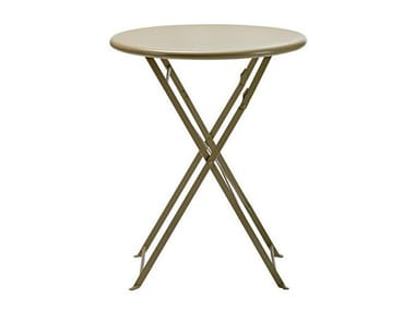 Folding garden table FLOWER | Round table