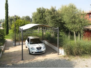 Iron Carport PERGOLA FOR CARS