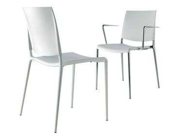 Stackable polypropylene chair ALEXA | Stackable chair
