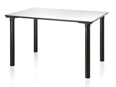 Rectangular laminate table LOGIKO