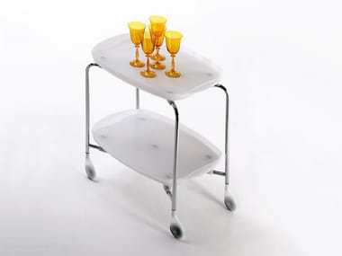 Folding food trolley TENDER