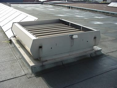 Non-mechanical heat and smoke evacuator OGNITEMPO