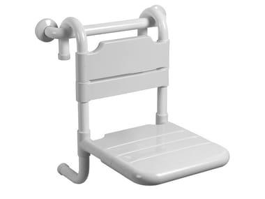 Sedile doccia rimovibile in acciaio zincato TUBOCOLOR | Sedile doccia
