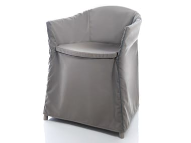 Solid-color technical fabric chair cover JO HOUSSE