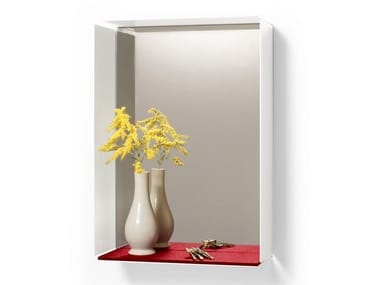 Rectangular wall-mounted mirror MIRROR-BOX