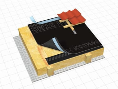 Membrana impermeabile ad alta permeabilità al vapore DELTA® - EXXTREM