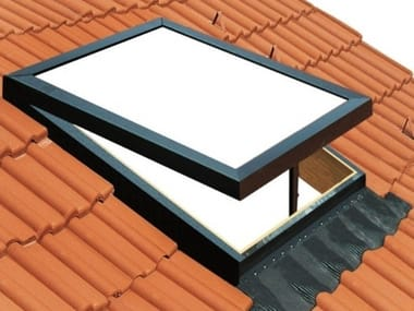 Aluminium roof window STILO