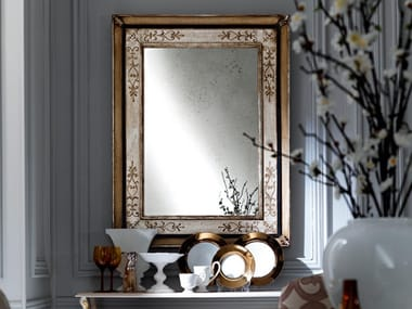 Rectangular framed mirror 2475 | Mirror