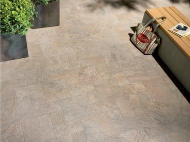 Pavimento/rivestimento per interni ed esterni PERCORSI QUARTZ SAND