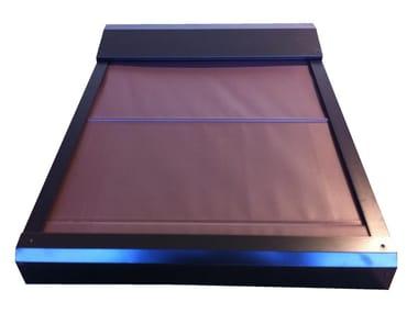 Tenda per finestre da tetto elettrica in alluminio Tenda da esterni oscurante 220V