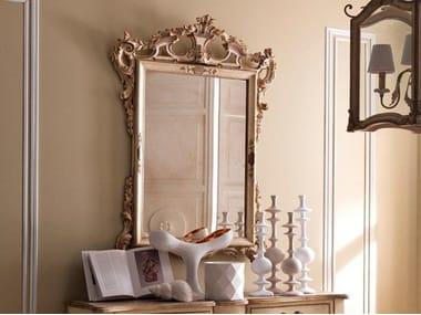 Wall-mounted framed mirror 2458 | Mirror