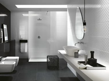 Indoor white-paste wall tiles PRESTIGE
