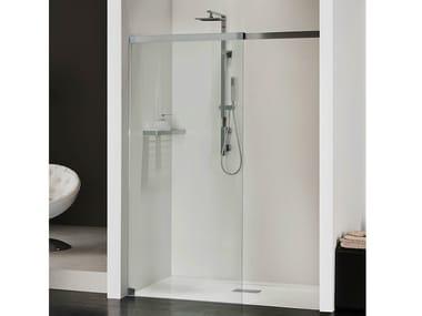 Box doccia a nicchia in cristallo LIBERO 5000