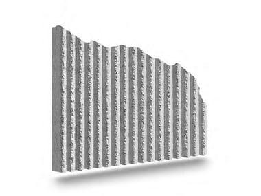 Matrix for fair faced concrete wall RIGATINO