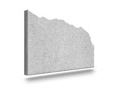 Matrix for fair faced concrete wall TRAVERTINO