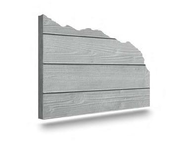 Matrix for fair faced concrete wall WOODLINE