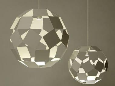 Lampada a sospensione in acciaio DANCING SQUARE LAMP