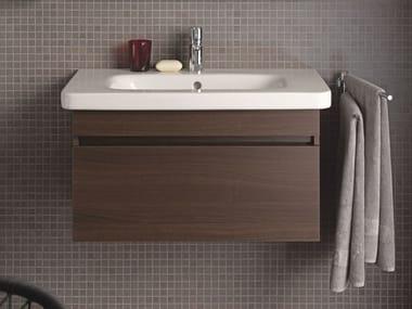 Wall-mounted wooden vanity unit DURASTYLE | Vanity unit