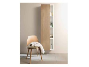 Storage suspended wooden bathroom cabinet DURASTYLE | Suspended bathroom cabinet