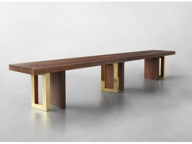 Solid wood bench IL PEZZO 6   Bench