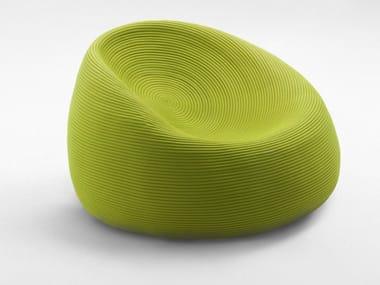 Rope garden armchair with removable cover OTTO   Garden armchair