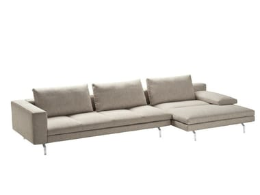 Sectional sofa with removable cover BRUCE | Sectional sofa