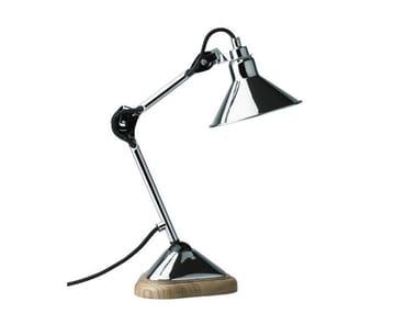 Lampada da tavolo girevole orientabile con braccio flessibile N°207 | Lampada da tavolo
