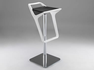 Height-adjustable swivel technopolymer stool FREEDOM AS