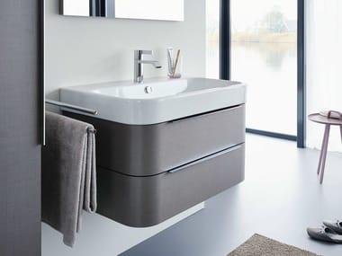L-CUBE C-BONDED   Mobile lavabo sospeso By Duravit design ...