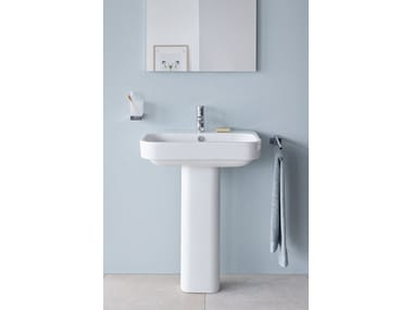 Ceramic washbasin pedestal HAPPY D.2 | Washbasin pedestal
