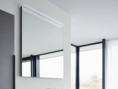 Mirror with integrated lighting HAPPY D.2 | Mirror