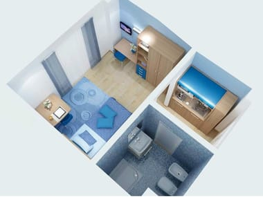 Furniture for Student Residence ZEUS