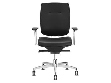 Task chair with 5-Spoke base with castors SPIRIT | Task chair with castors