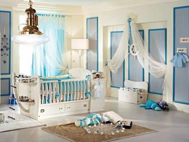 Fitted wooden baby's room PASSEPARTOUT BABY