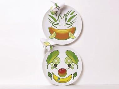 Assiette en porcelaine Y MIE 1