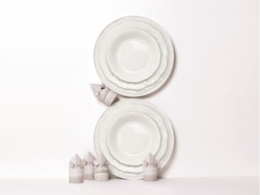 Porcelain plate ALL IN ONE